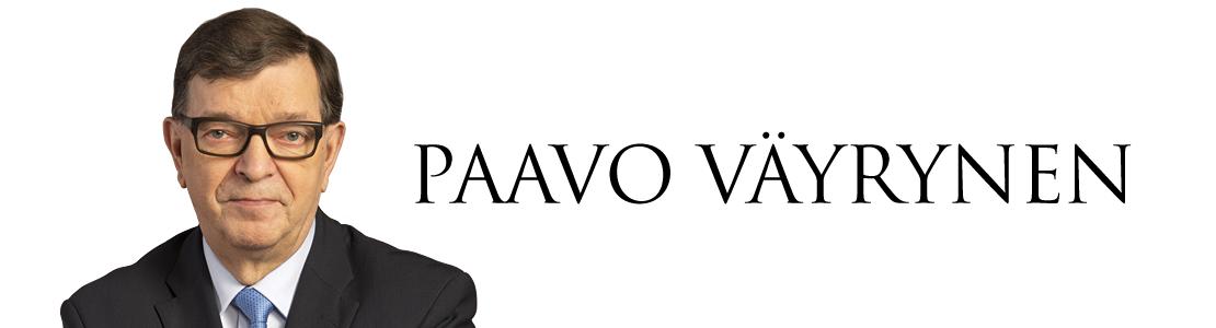 Paavo Väyrynen Blogi